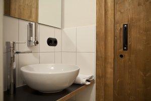 Moderne Sanitäranlagen auf der Wannenkopfhütte!
