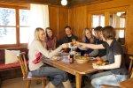 Gesellige Stunden auf der Wannenkopfhütte im Allgäu!