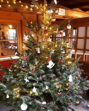 Eine weihnachtliche Atmosphäre in der Wannenkopfhütte