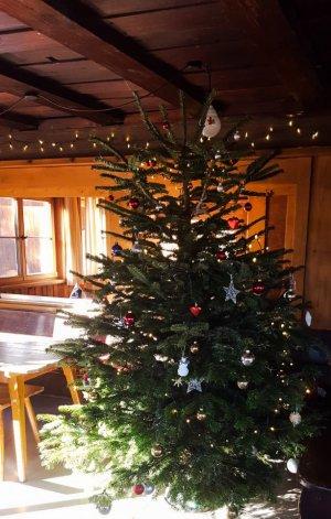 Hütten-Weihnachtsbaum