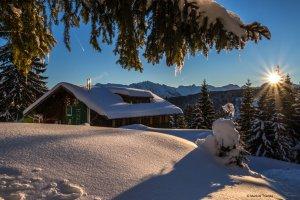 Wannenkopfhütte Winter