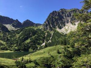 Nebelhorn, Entschenkopf und Co.