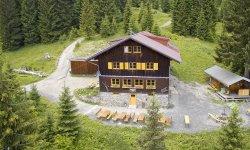 Die urige Wannenkopfhütte im Allgäu