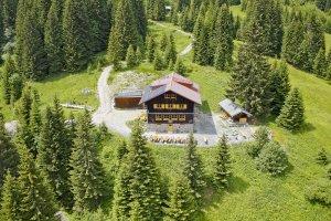 Die Wannenkopfhütte bei Oberstdorf