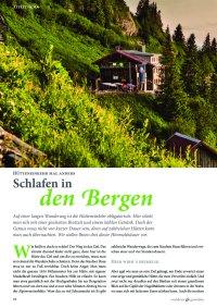 Magazin zum Allgäuer Wandersommer 2019