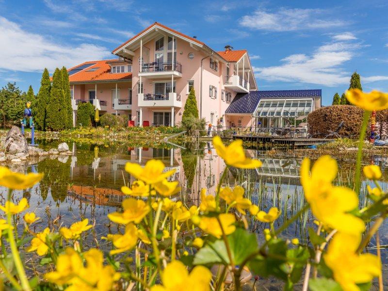 Frühling auf dem Wellnesshof - Wellnesshof Blenk - 5 Sterne Ferienwohnungen in Wertach im Allgäu