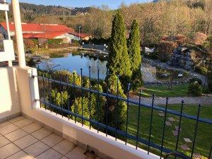 Ausblick vom Balkon - Wellnesshof Blenk - 5 Sterne Ferienwohnungen in Wertach im Allgäu