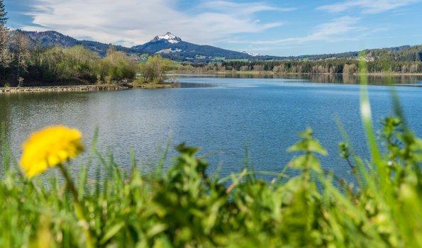 Grüntensee im Frühling - Wellnesshof Blenk - 5 Sterne Ferienwohnungen in Wertach im Allgäu