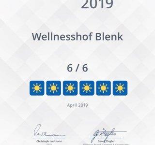 Holiday Check Bewertung 2019