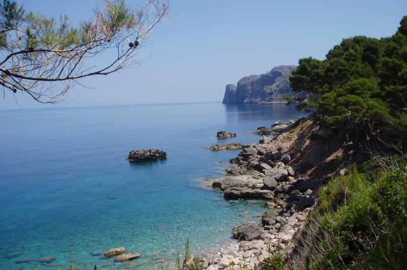Mallorca - Blick auf Küste