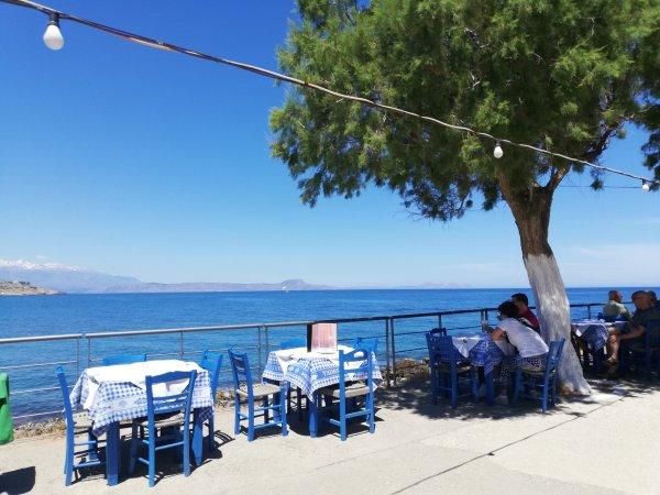 Mittagsrast am Meer