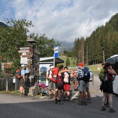 Start im Ultental