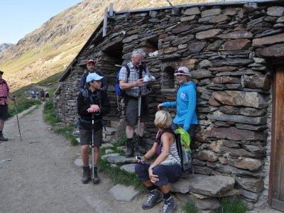 Hirtenhütte auf dem Weg zur Martin-Busch-Hütte