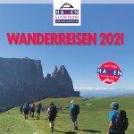 Titelseite Wanderkatalog 2021