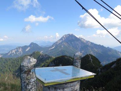 Blick vom Grenzberg Kärnten-Slowenien
