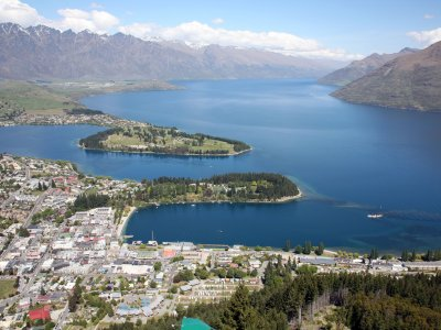 Queenstown - Blick vom Bobs Peak