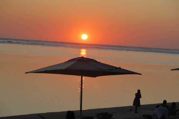 Sonnenuntergang La Reunion