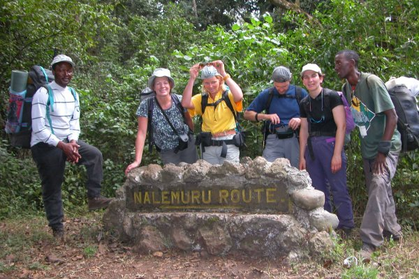 Schild Route