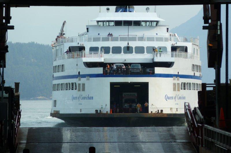 Fähre nach Vancouver Island