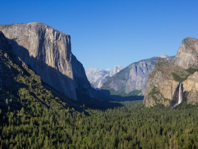 Day 2-3 Yosemite Valley - Half Dome Village location