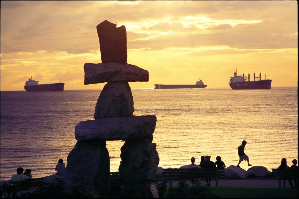 English Bay Inuksuk