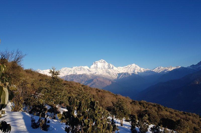 Bergmassiv Nepal