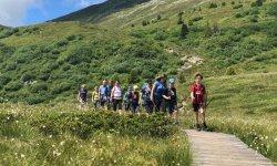 E5 Kinder - Abstieg Venet Berg