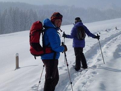 Schneeschuhtour zum Grünten