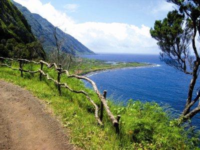 Die Nordküste der Insel Sao Jorge