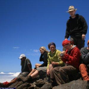 Auf dem Gipfel des Pico