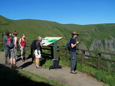 Kraterwanderung auf Faial