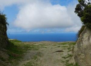 Aussicht vom Vulkan aus