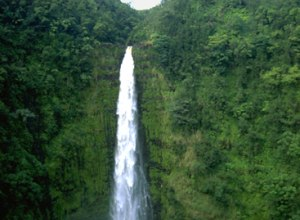 Hawaii Wasserfall