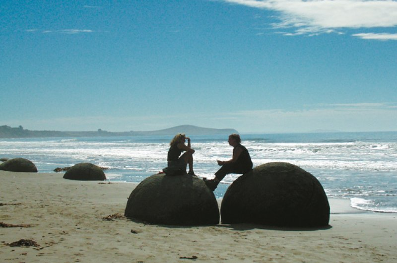 Strand auf Neuseeland