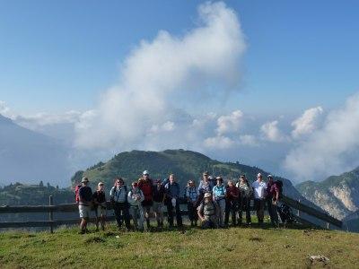 Tourstart in die Dolomiten