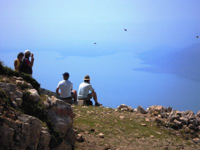 Wanderfreuden mit Blick auf den Gardasee