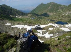 Fagaras-Above-Podragu-Hut