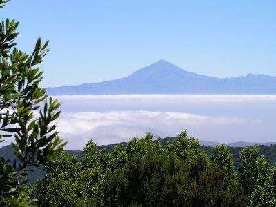 Blick auf den Teide in Teneriffa