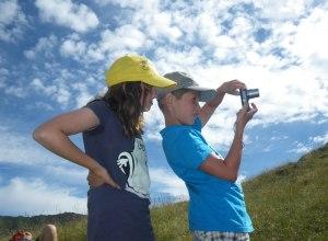 Hobbyfotografen auf dem E5 mit Kindern