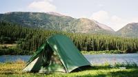 Zelten in Kanada