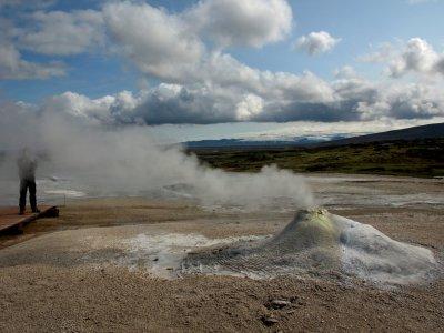 Thermalgebiet in Island
