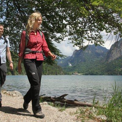 Alpsee mit Koenigsschloessern