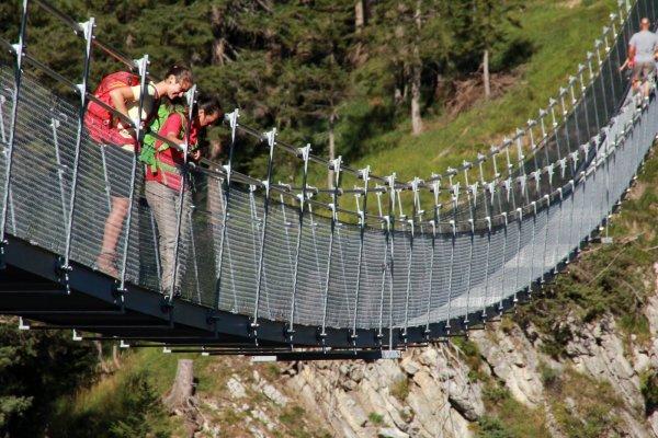 Hängebrücke Holzgau