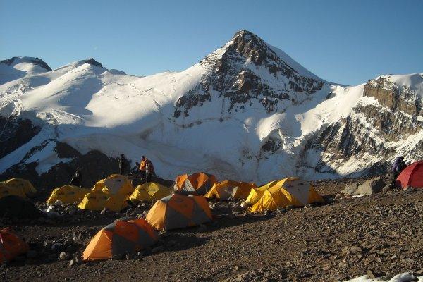 Aconcagua camp