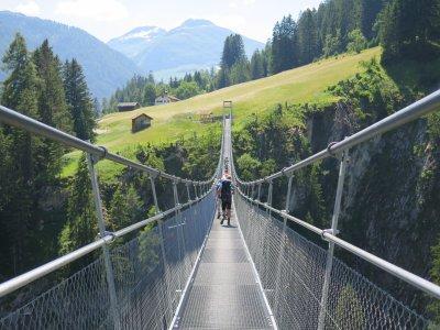 Hängebrücke über Holzgau