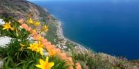 Blick auf den Atlanik vom Hotel Galosol Madeira