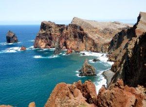 Ostküste Madeira Meeresbrandung