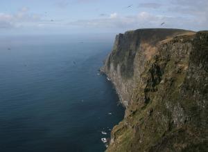 Steilküste Island