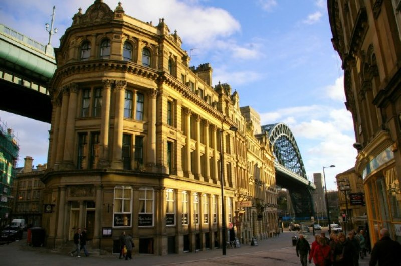 Innenstadt Newcastle