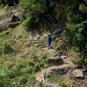 Unterwegs in der 1000 Stufen Schlucht